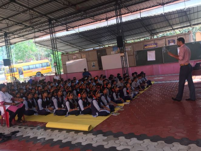 Awareness Class at Sree Saraswathy Vidyalayam Senior Secondary School Ooruttambalam